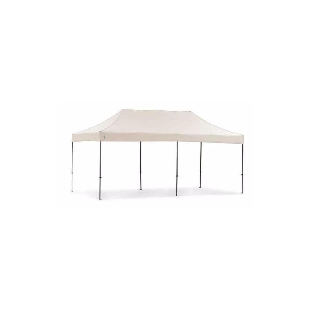 Carpa 6x3 Impermeable Toldo Plegable Jardin 3x6 Blanca