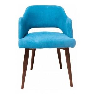 Silla Eames Tapizada Moderna Sala Sillon Vintage Azul imagen secundaria