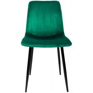 Silla Eames Tapizada Sencilla Recta Minimalista Vintage Verde imagen secundaria