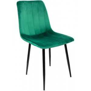 Comprar Silla Eames Tapizada Sencilla Recta Minimalista Vintage Verde