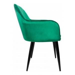 Sillon Eames Tapizado Brazo Vintage Moderno Hogar Verde imagen secundaria