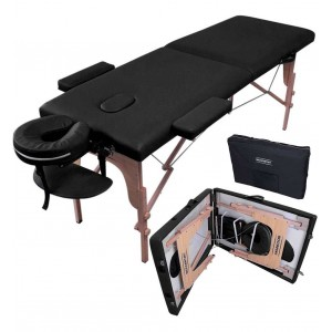Comprar Cama Masaje 180cmX60cm Aditamentos Plegable Portatil Negro