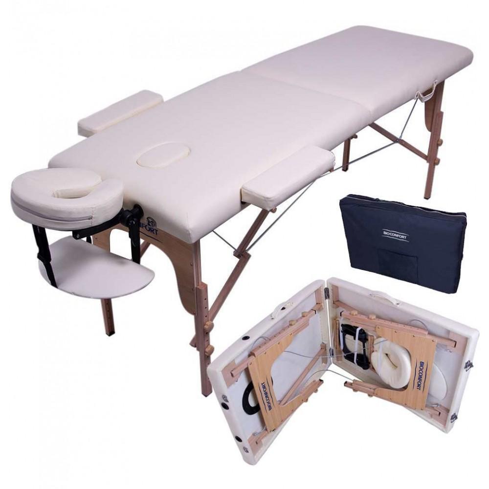 Cama Masaje 180cmX60cm Plegable Portatil Terapia Faciales bl