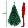 Arbol Navidad Artificial Frondoso 1.90 M Verde Pino Jardimex