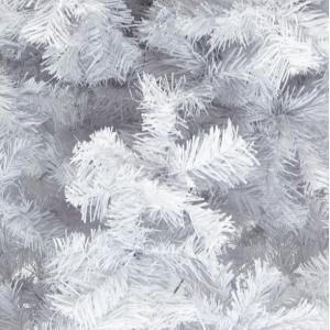 Arbol Navidad 1.90m Artificial Blanco Pino Frondoso Jardimex imagen secundaria