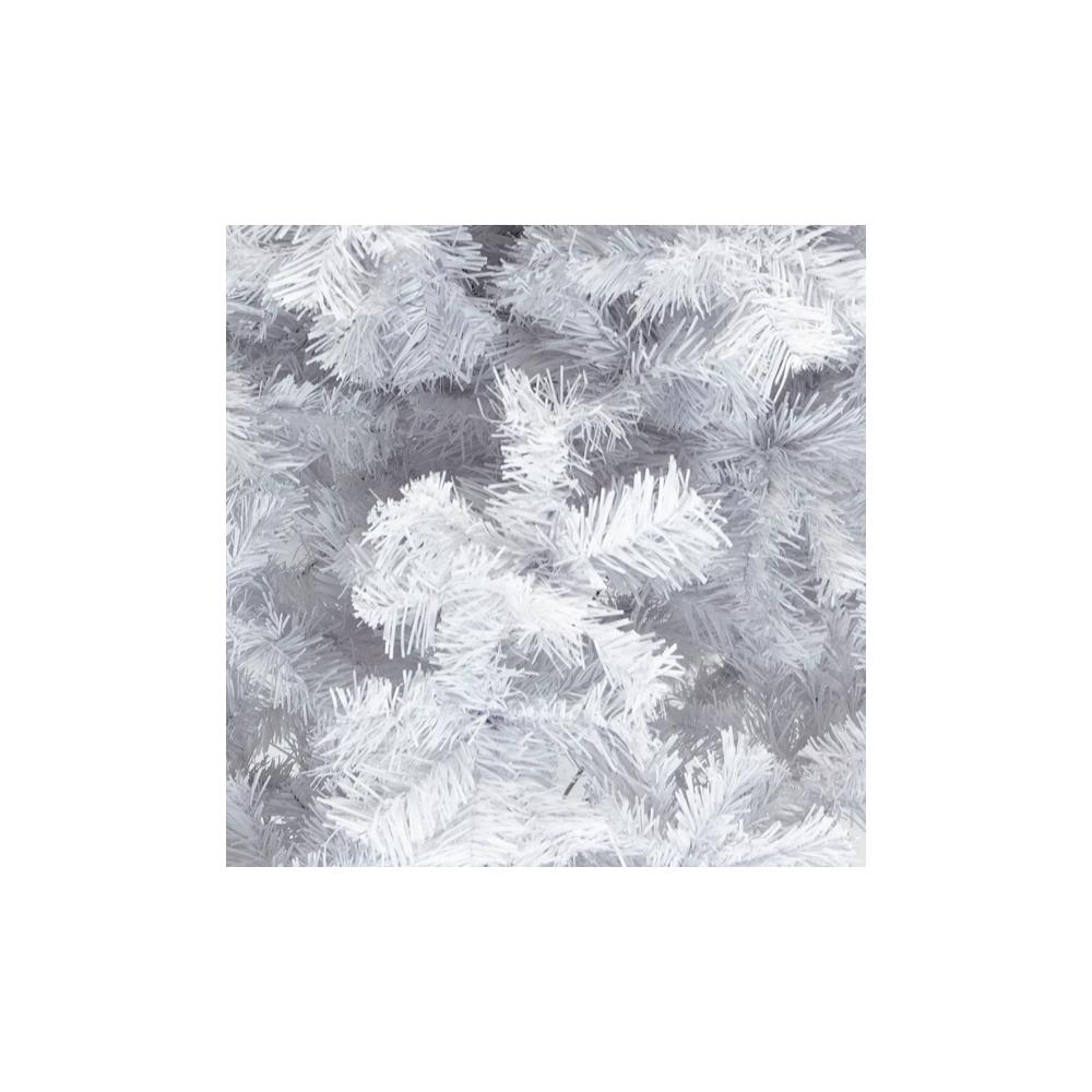 500 ramas de /árbol de Navidad abeto de nieve /árbol de decoraci/ón de Navidad 1,5 m Mbuynow flocado artificial /árbol de Navidad Decoraci/ón navide/ña con soporte de metal