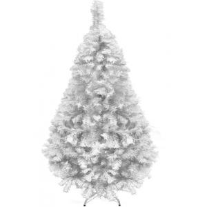 Comprar Arbol Navidad 1.60m Artificial Blanco Pino Frondoso Jardimex