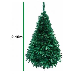 Arbol Navidad Artificial Frondoso Verde 2.10m Pino Jardimex imagen secundaria