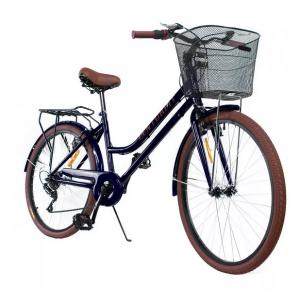 Comprar Bicicleta Vintage Retro Rodada 26 Frenos V brake Negro