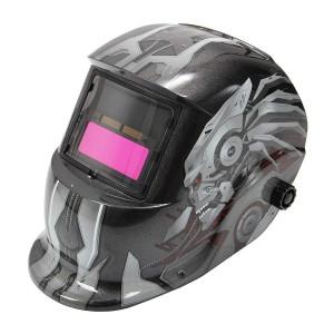 Comprar Careta Soldar Electronica Casco Herramienta Gris Robot