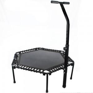 Comprar Trampolin Fitness Ejercicio Hexagonal 50 Plgs Centurfit Mini