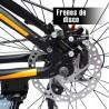 Bicicleta Aluminio R29 21 Velocidades Colores Shimano