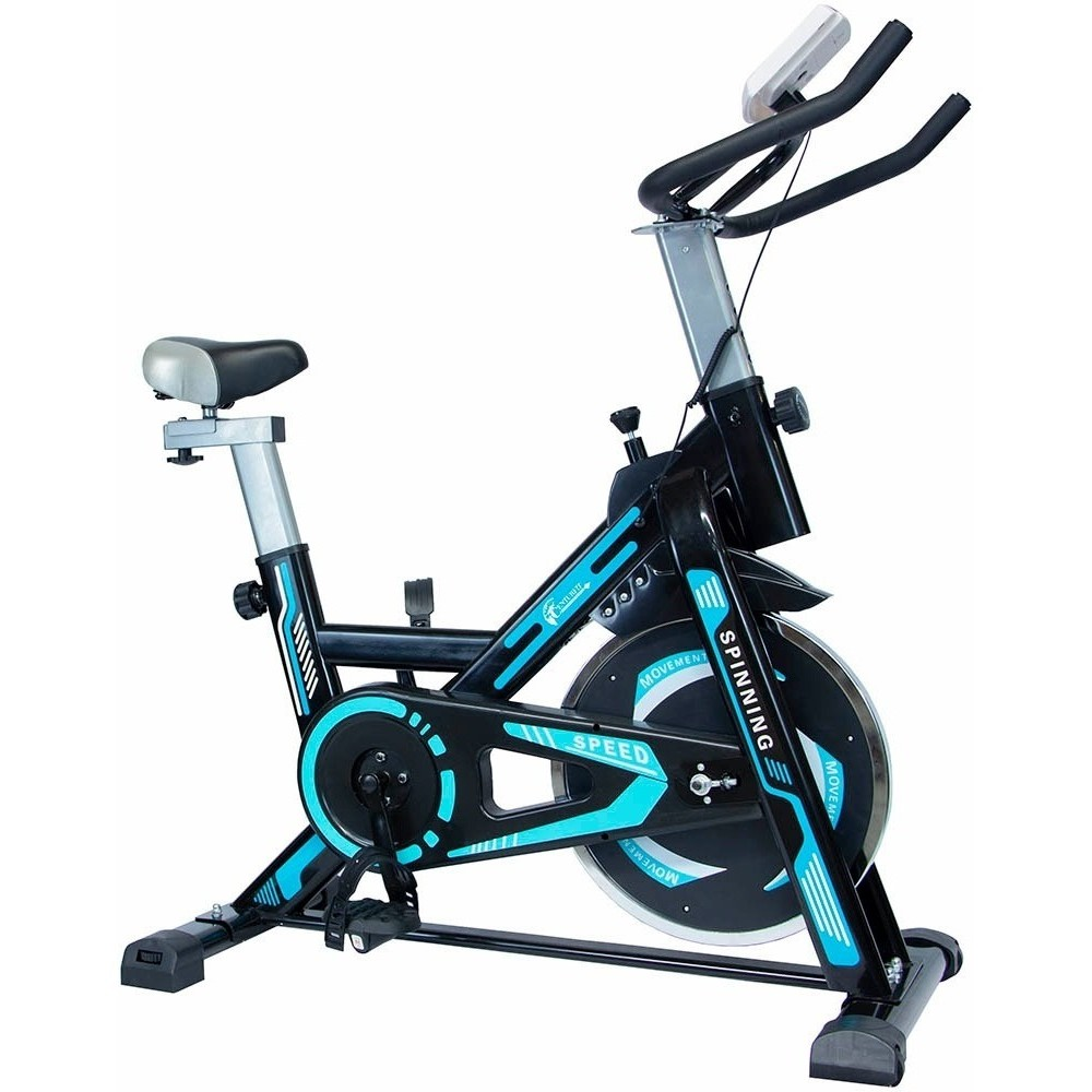 Bicicleta Spinning Fija 10 Kg Cardio Centurfit Profesional