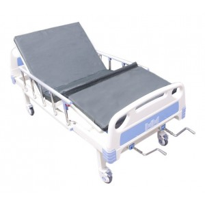 Comprar Cama Hospitalaria Manual Envío Gratis + Colchón Porta Suero