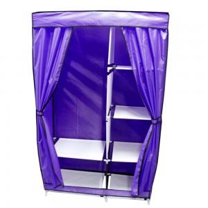 Closet Zapatera Organizador Compartimientos Metal Morada imagen secundaria