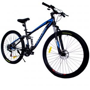 Comprar Bicicleta Montaña Aluminio R29 21v Centurfit Shimano Azul