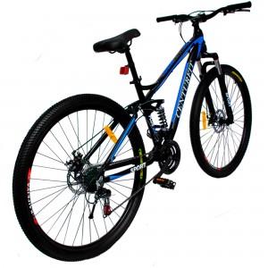 Bicicleta Montaña Aluminio R29 21v Centurfit Shimano Azul imagen secundaria