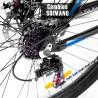 Bicicleta Montaña Aluminio R29 21v Centurfit Shimano Azul