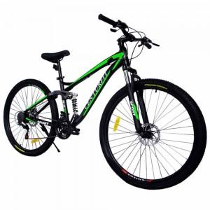 Bicicleta Montaña Aluminio R29 21v Centurfit Shimano Verde imagen secundaria