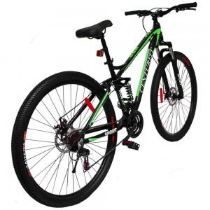 Comprar Bicicleta Montaña Aluminio R29 21v Centurfit Shimano Verde