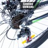 Bicicleta Montaña Aluminio R29 21v Centurfit Shimano Verde
