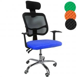 Comprar Silla Oficina Sillon Ejecutivo Reclinable Ergonomico Azul