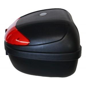 Caja Motocicleta Porta Maletero 51 Lts Equipaje 2 Cascos imagen secundaria