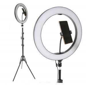 Aro Luz Led 34 Cm  Control Bluetooth Tripie Portacelular imagen secundaria