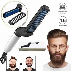 Comprar Plancha Barba Alisador Cepillo Electrico Barberia Electrico