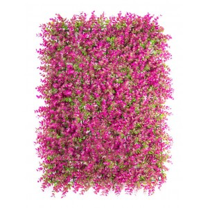 10 Piezas Follaje Artificial Muro Exterior 60x40 Colores imagen secundaria