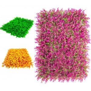 Comprar 10 Piezas Follaje Artificial Muro Exterior 60x40 Colores