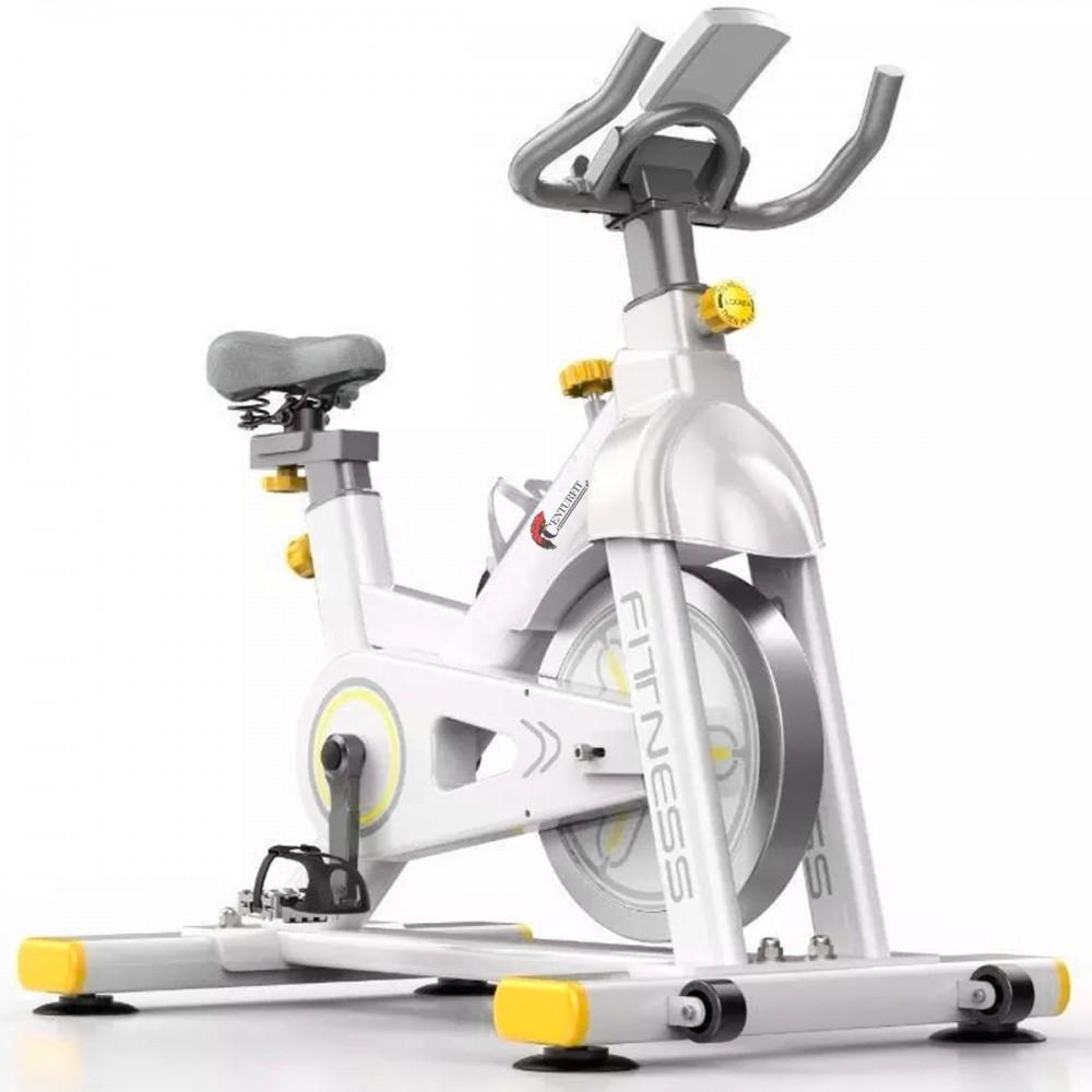 Bicicleta Spinning Fija 13 Kg Centurfit Fitness Estatica