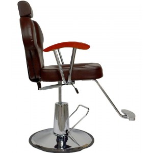 Silla Barberia Sillon Hidraulico Salon Reclinable Estilista imagen secundaria