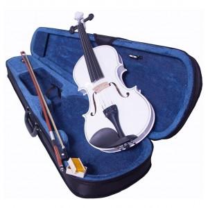 Comprar Violin 4/4 Profesional Blanco Estuche Accesorios