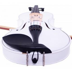 Violin 4/4 Profesional Blanco Estuche Accesorios imagen secundaria