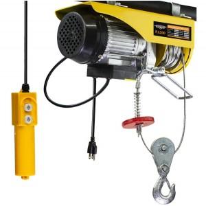 Polipasto Electrico Carga 200 - 400 Kg Cable Acero 20m imagen secundaria