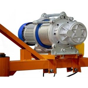 Grua Polipasto Electrico Carga 400kg Cable Acero 60 Metros imagen secundaria