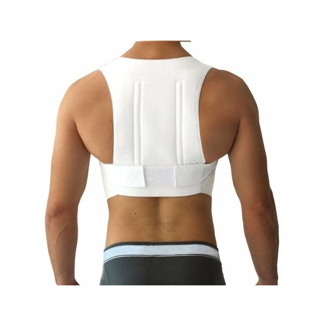 Chaleco Corrector Talla L Postura Faja Bioconfort Unisex Espalda Grande