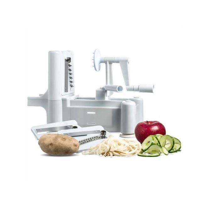 Hurry Slicer Rallador Cortador Espiral Alimentos Verduras