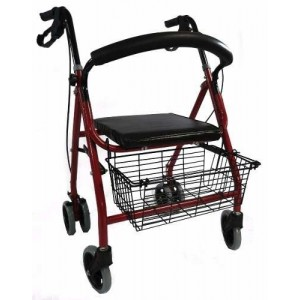Comprar Andadera Silla Asiento Rollator Mayores Aluminio Adulto