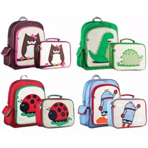 Comprar Kit Mochila Escolar Lonchera Backpack Niño Escuela Niña