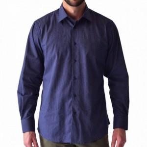 Camisa Hombre Tallas Extras Casual Puntos Rack & Pack imagen secundaria