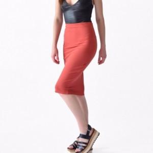 Falda Mujer Cintura Tubo Lapiz Strech Rack & Pack imagen secundaria