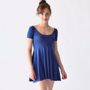 Vestido Corto Casual Ropa Mujer Rack & Pack Dama Azul Verano imagen secundaria