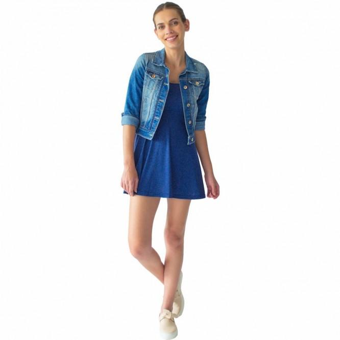 Vestido Corto Mujer Rack & Pack Corto Azul