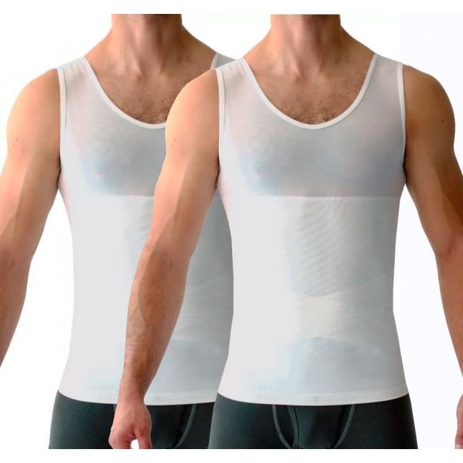Camiseta Modeladora Faja  Promoció 2x1 Hombre Compresión
