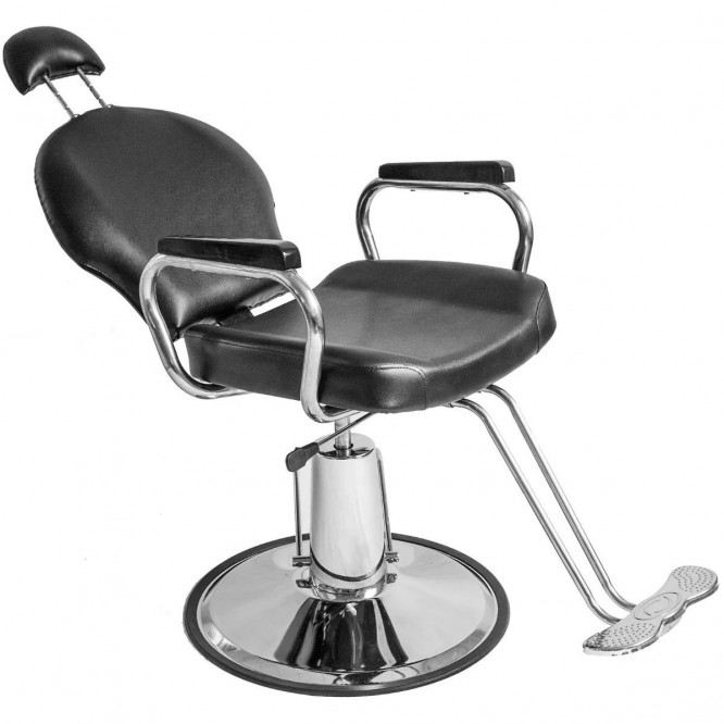 Silla Reclinable Barberia Hidraulica Barbero Estetica Sillon