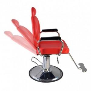 Silla Sillon Hidraulica Reclinable Barberia Salon Estetica imagen secundaria