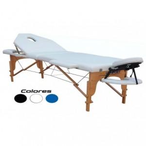 Cama Masaje Spa Reclinable Estuche Portatil Profesional Mesa Tatuaje Fisioterapia Blanco imagen secundaria
